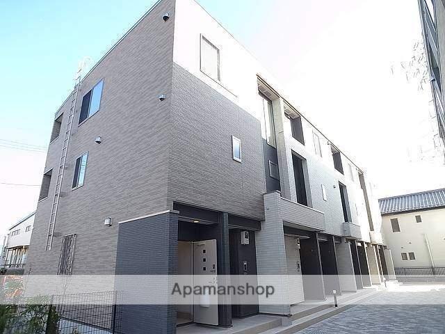 東京都足立区、北綾瀬駅徒歩32分の新築 3階建の賃貸アパート