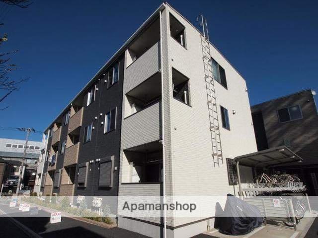東京都足立区、青井駅徒歩28分の新築 3階建の賃貸アパート