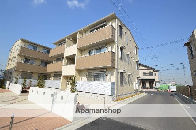 東京都足立区、北綾瀬駅徒歩15分の新築 3階建の賃貸アパート