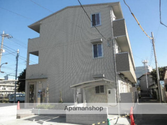 東京都足立区、北綾瀬駅徒歩20分の築5年 3階建の賃貸アパート