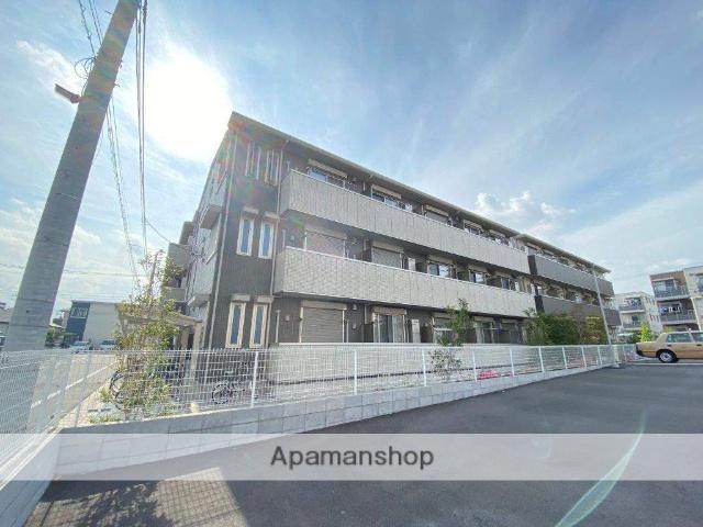 東京都足立区、北綾瀬駅徒歩12分の新築 3階建の賃貸マンション