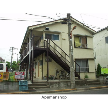 東京都足立区、綾瀬駅バス15分辰沼1丁目下車後徒歩1分の築40年 2階建の賃貸アパート
