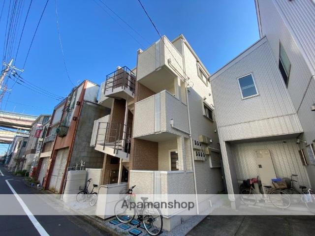 東京都葛飾区、綾瀬駅徒歩15分の新築 3階建の賃貸アパート