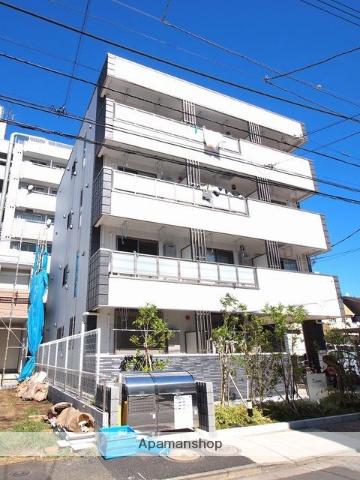 東京都足立区、北綾瀬駅徒歩14分の新築 4階建の賃貸マンション