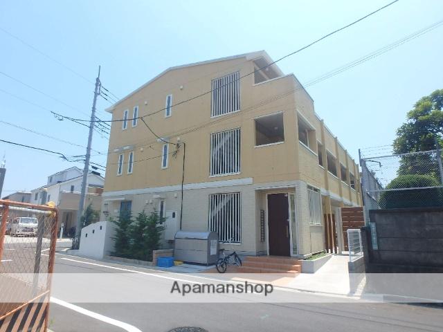 東京都足立区、北綾瀬駅徒歩18分の新築 3階建の賃貸アパート