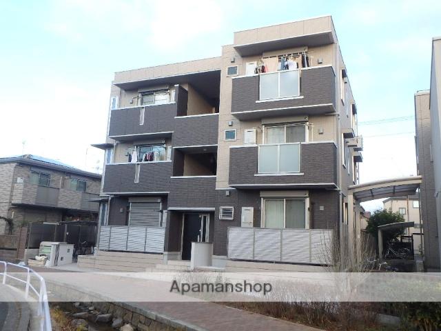 東京都葛飾区、綾瀬駅徒歩12分の新築 3階建の賃貸アパート