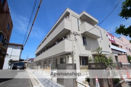 東京都足立区、北綾瀬駅徒歩30分の新築 3階建の賃貸アパート
