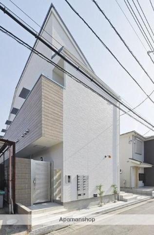 東京都足立区、六町駅徒歩10分の新築 2階建の賃貸アパート