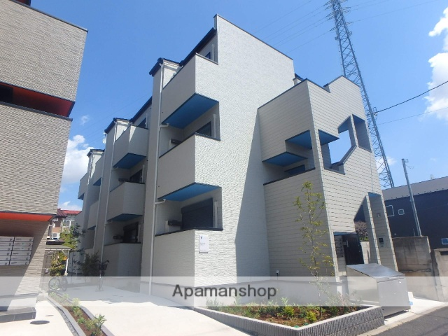 東京都足立区、六町駅徒歩8分の新築 3階建の賃貸アパート