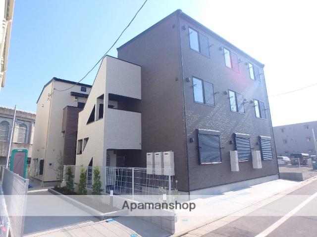 東京都足立区、北綾瀬駅徒歩14分の新築 3階建の賃貸アパート