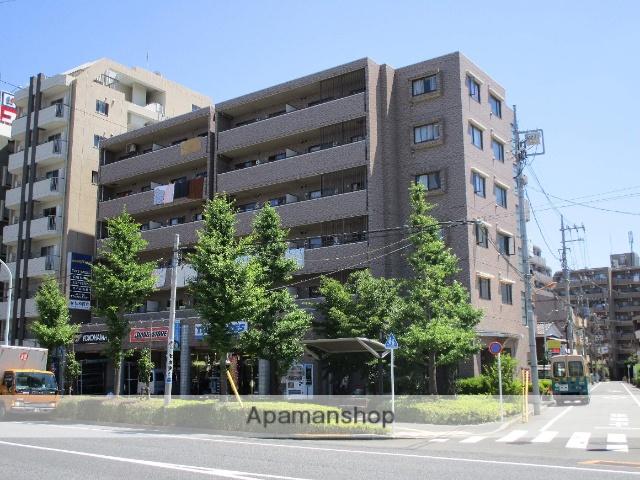 東京都足立区、綾瀬駅徒歩6分の築22年 6階建の賃貸マンション