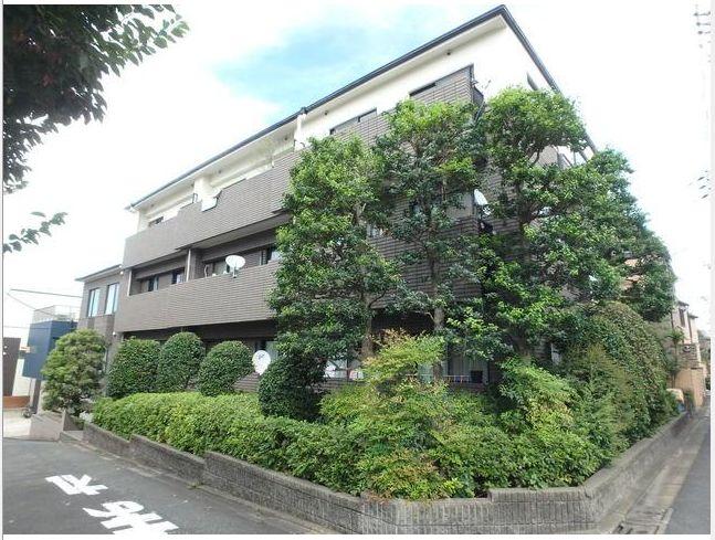東京都目黒区、代官山駅徒歩20分の築21年 4階建の賃貸マンション