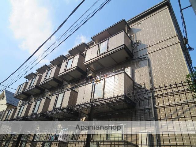 神奈川県川崎市高津区、二子新地駅徒歩7分の築24年 3階建の賃貸マンション