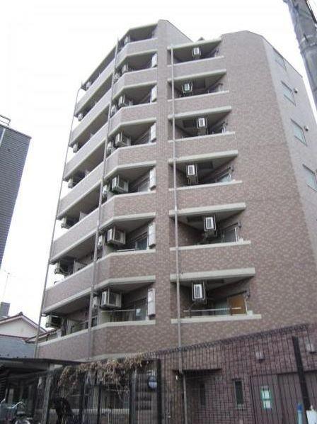 東京都大田区、御嶽山駅徒歩4分の築14年 8階建の賃貸マンション