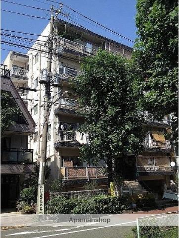 東京都目黒区、祐天寺駅徒歩9分の築47年 5階建の賃貸マンション
