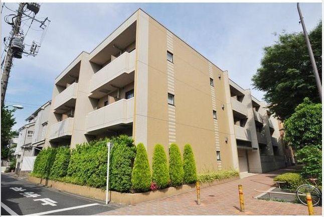東京都目黒区、都立大学駅徒歩17分の築13年 3階建の賃貸マンション