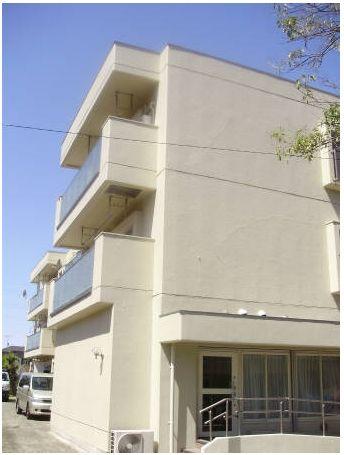 東京都世田谷区、尾山台駅徒歩9分の築41年 3階建の賃貸マンション