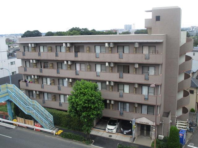 東京都世田谷区、等々力駅徒歩13分の築17年 5階建の賃貸マンション