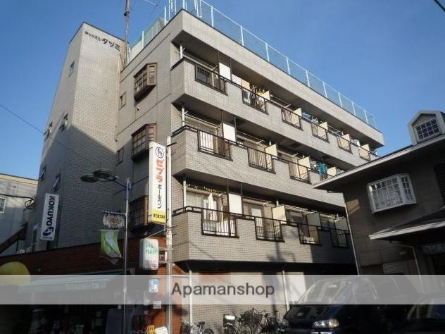 東京都目黒区、都立大学駅徒歩6分の築28年 4階建の賃貸マンション