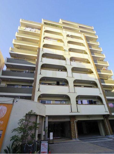 東京都目黒区、祐天寺駅徒歩14分の築46年 12階建の賃貸マンション