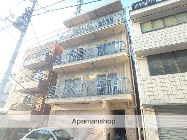 東京都世田谷区、自由が丘駅徒歩14分の築43年 4階建の賃貸マンション
