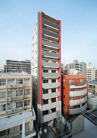 神奈川県川崎市中原区、向河原駅徒歩16分の築6年 11階建の賃貸マンション