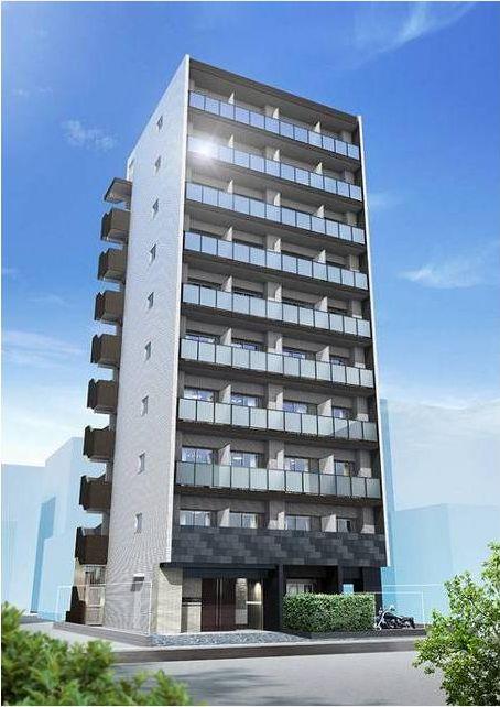 神奈川県川崎市中原区、向河原駅徒歩17分の築3年 10階建の賃貸マンション
