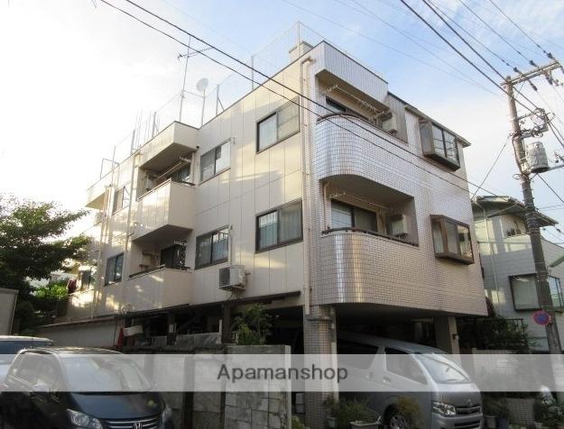 東京都世田谷区、九品仏駅徒歩25分の築27年 3階建の賃貸マンション
