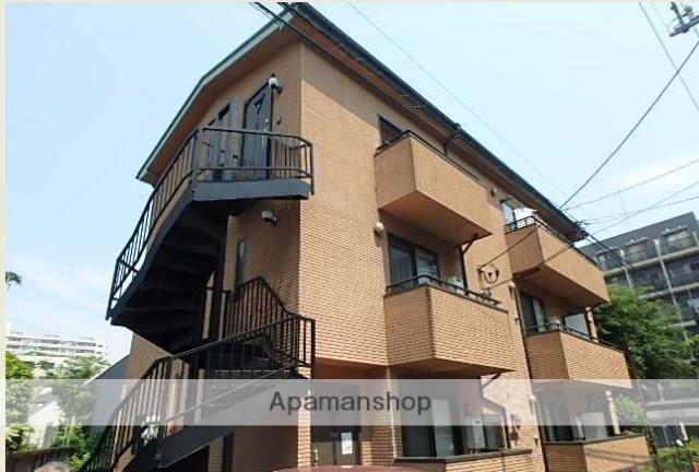 東京都目黒区、代官山駅徒歩11分の築12年 3階建の賃貸アパート