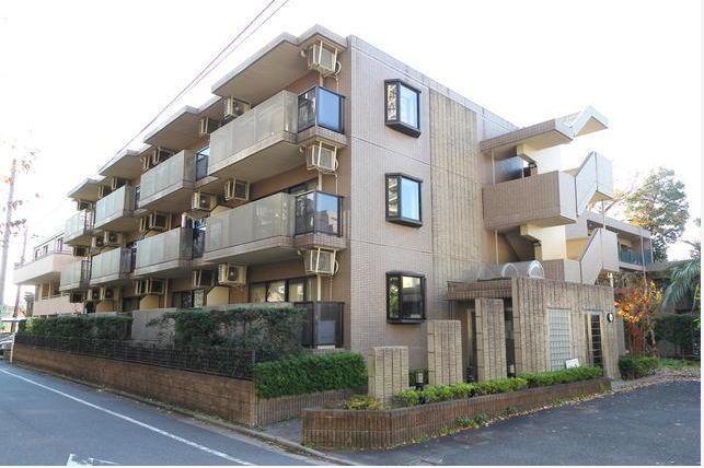 東京都世田谷区、都立大学駅徒歩19分の築21年 3階建の賃貸マンション