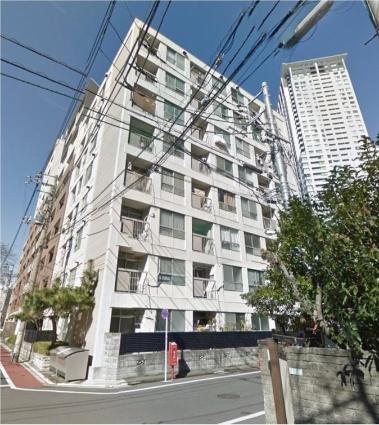東京都目黒区、神泉駅徒歩14分の築54年 8階建の賃貸マンション