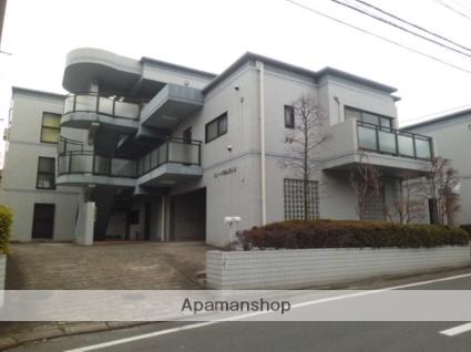 東京都目黒区、都立大学駅徒歩8分の築23年 3階建の賃貸マンション