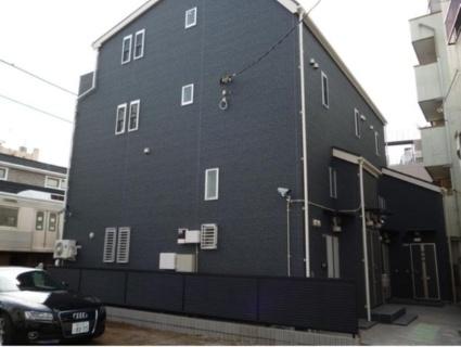 東京都目黒区、自由が丘駅徒歩5分の築4年 3階建の賃貸アパート