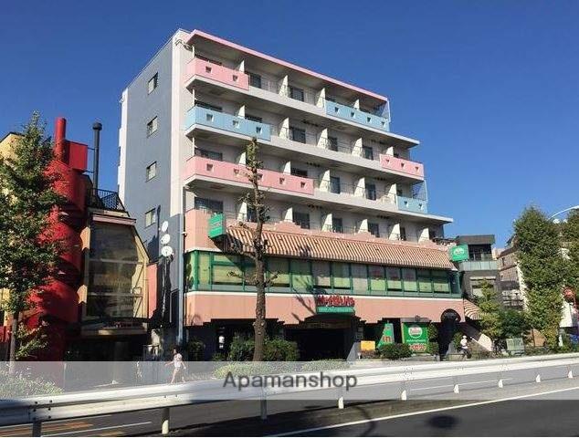 東京都目黒区、祐天寺駅徒歩21分の築19年 6階建の賃貸マンション