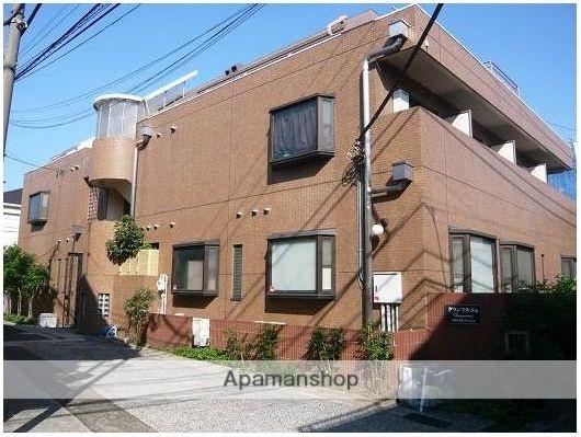 東京都目黒区、祐天寺駅徒歩3分の築27年 3階建の賃貸マンション