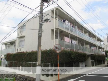 東京都目黒区、都立大学駅徒歩11分の築24年 3階建の賃貸マンション