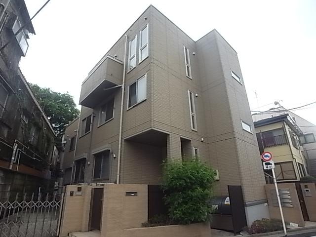 東京都世田谷区、新代田駅徒歩7分の築8年 3階建の賃貸アパート
