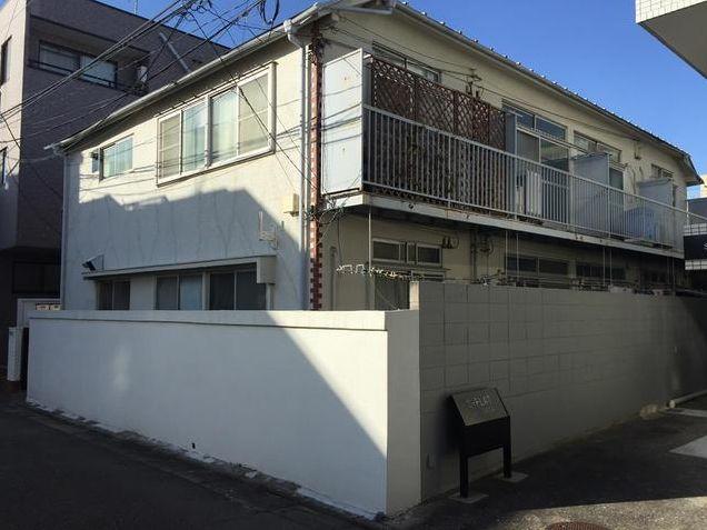 東京都目黒区、祐天寺駅徒歩19分の築40年 2階建の賃貸マンション