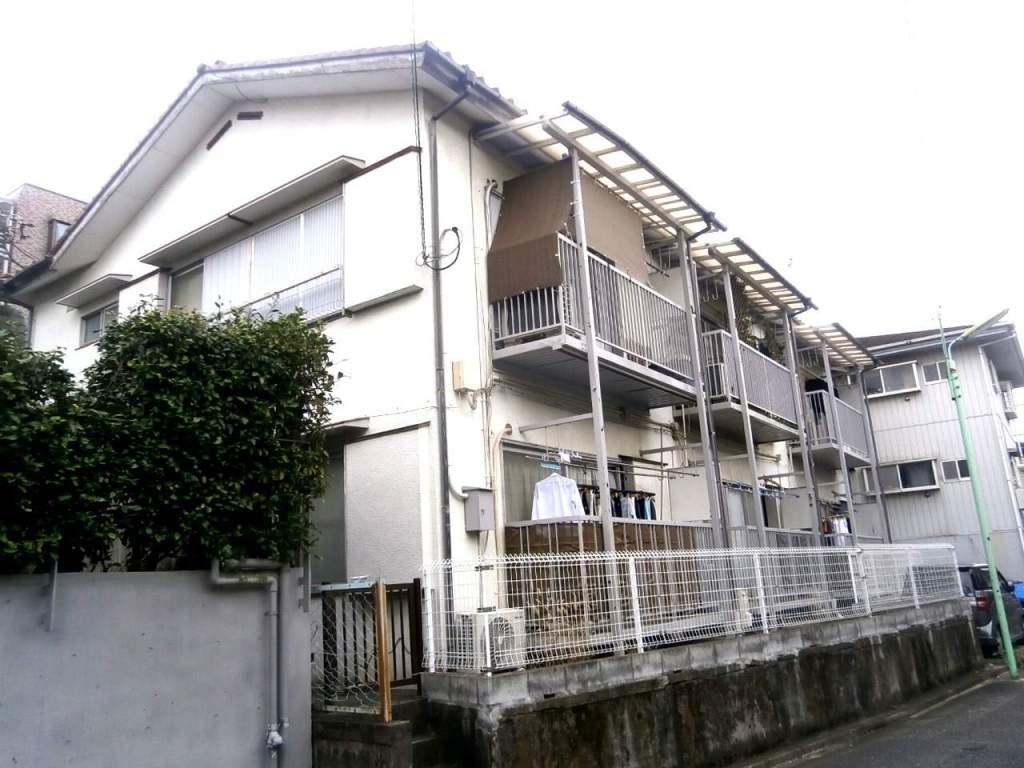 東京都世田谷区、等々力駅徒歩14分の築37年 2階建の賃貸アパート