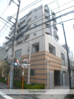 東京都目黒区、駒場東大前駅徒歩2分の築14年 9階建の賃貸マンション