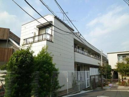 東京都目黒区、都立大学駅徒歩8分の築30年 2階建の賃貸アパート