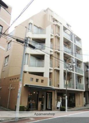 東京都目黒区、都立大学駅徒歩11分の築20年 7階建の賃貸マンション