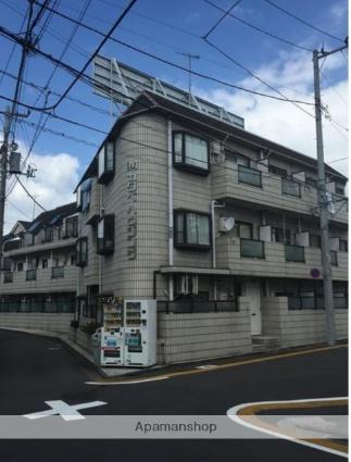 東京都目黒区、祐天寺駅徒歩13分の築30年 3階建の賃貸マンション