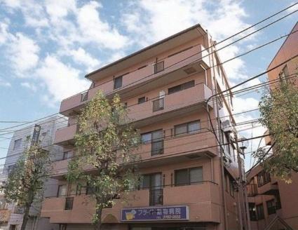 東京都目黒区、祐天寺駅徒歩4分の築19年 5階建の賃貸マンション