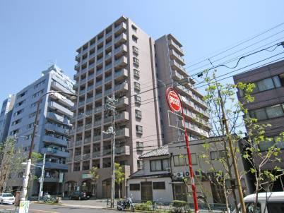 東京都品川区、大井町駅徒歩4分の築18年 12階建の賃貸マンション