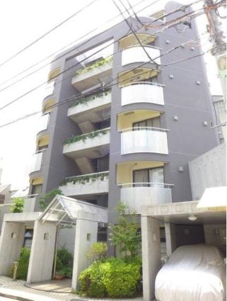 東京都目黒区、神泉駅徒歩16分の築19年 7階建の賃貸マンション
