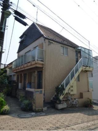 東京都目黒区、大岡山駅徒歩4分の築24年 2階建の賃貸アパート