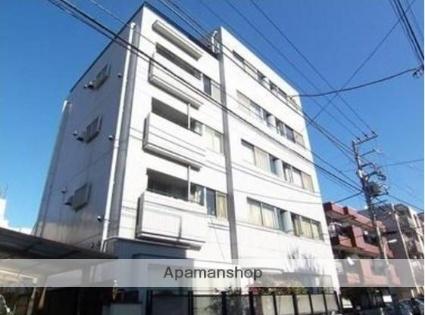 東京都目黒区、祐天寺駅徒歩16分の築25年 5階建の賃貸マンション