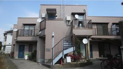 東京都世田谷区、九品仏駅徒歩18分の築21年 2階建の賃貸テラスハウス
