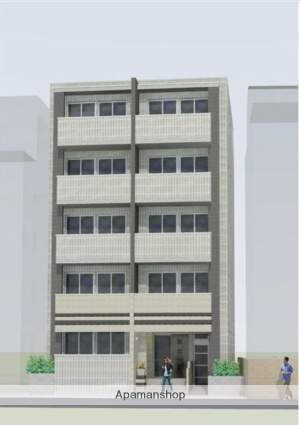 東京都目黒区、神泉駅徒歩13分の新築 5階建の賃貸マンション
